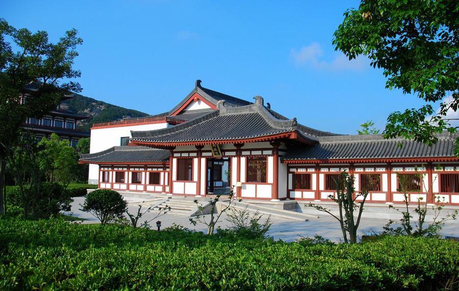 中国佛学院普陀山学院(朱家尖参学会馆)