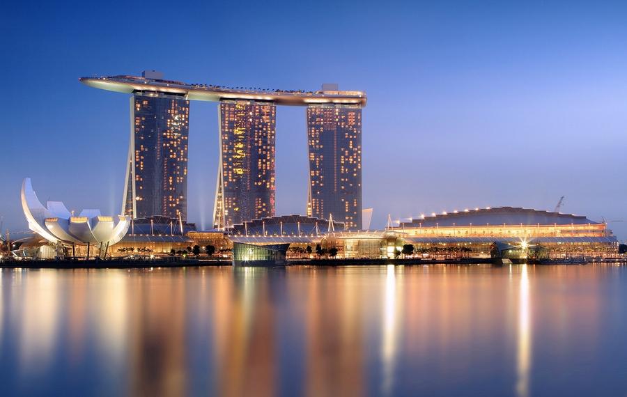 Marina Bay Sands Singapore(新加坡滨海湾金沙酒店)