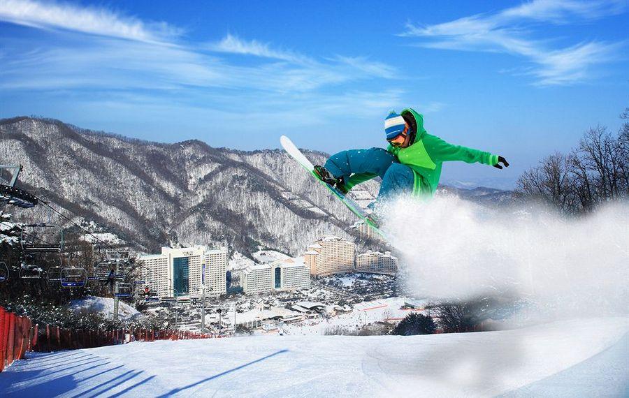 江原道大明维瓦尔第乐园(Daemyung Vivaldi Park Gangwondo Hongcheon)