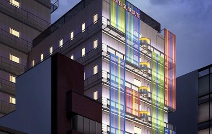 大阪难波灿路都大饭店(Hotel Sunroute Osaka Namba)