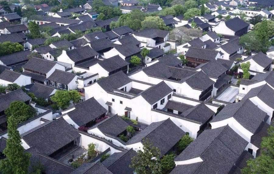 海宁盐官古城开元观堂