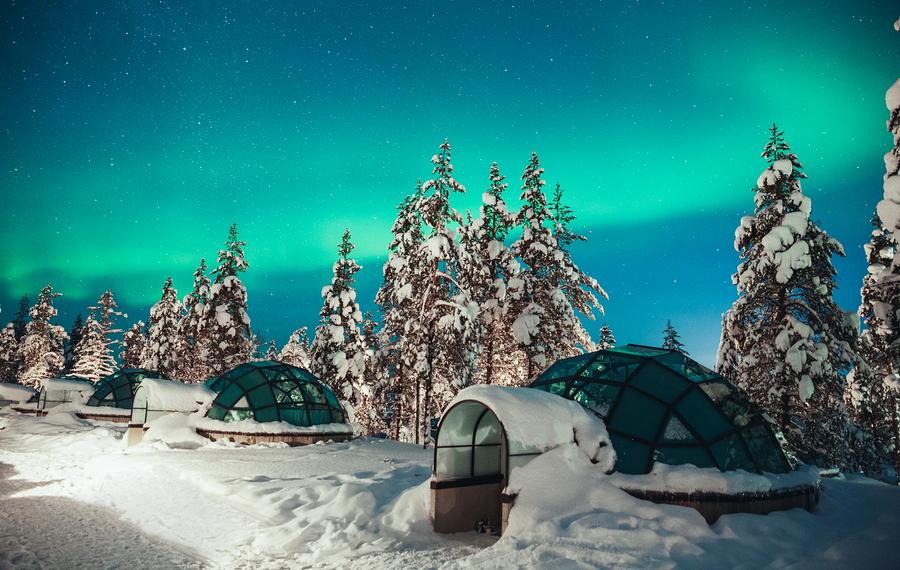 卡克斯劳特恩度假村Kakslauttanen Arctic Resort