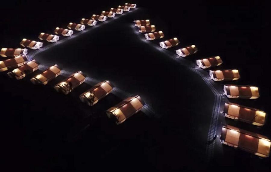 杭州径山帐篷谷