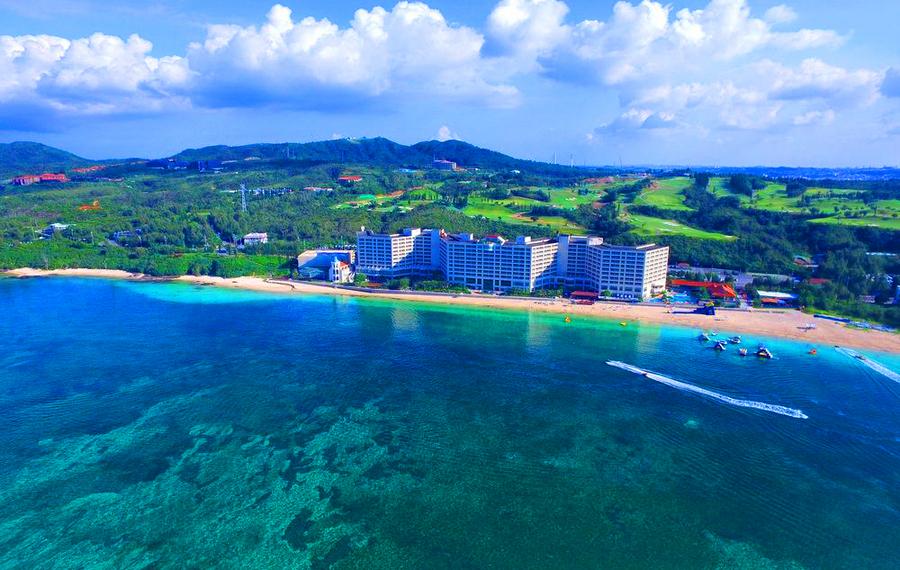 丽山海景皇宫度假酒店 谷茶湾 Rizzan Sea Park Hotel Tancha Bay