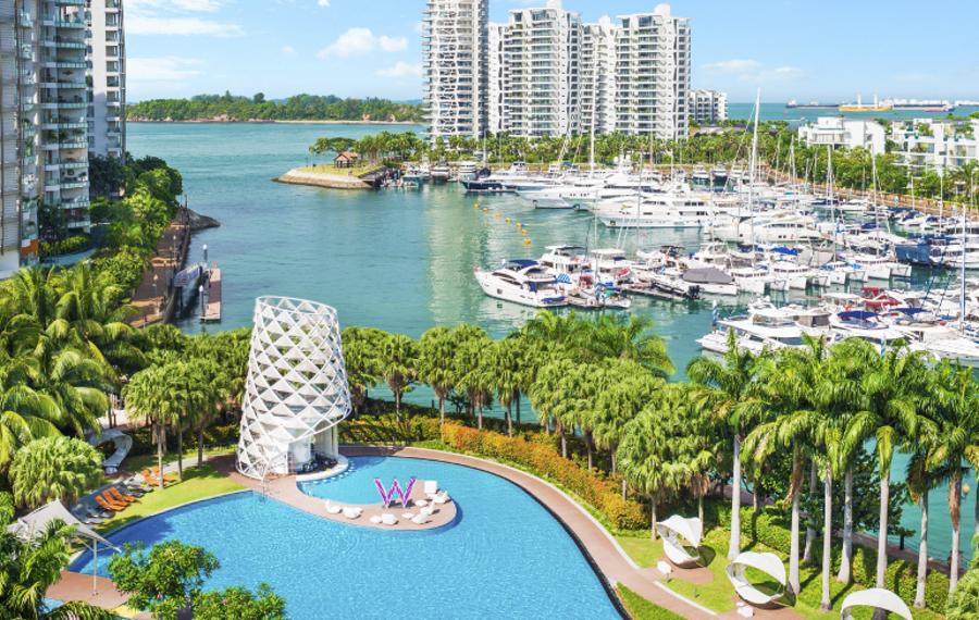 新加坡圣淘沙湾W酒店