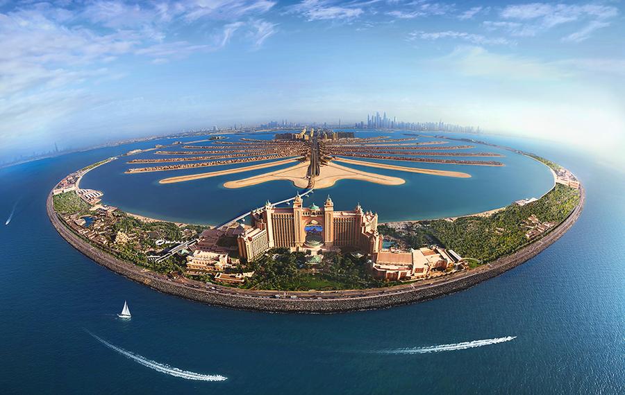 迪拜棕榈岛亚特兰蒂斯酒店 Atlantis the Palm Dubai