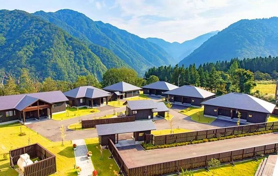 莫里诺卡兹塔迪亚玛酒店Hotel Morinokaze Tateyama