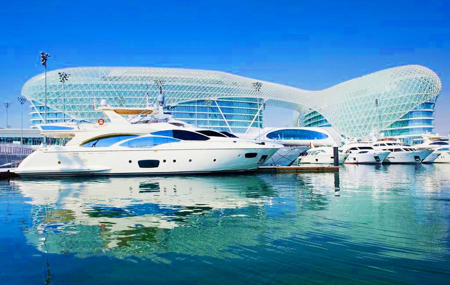 阿布扎比亚斯酒店 Yas Hotel, Abu Dhabi