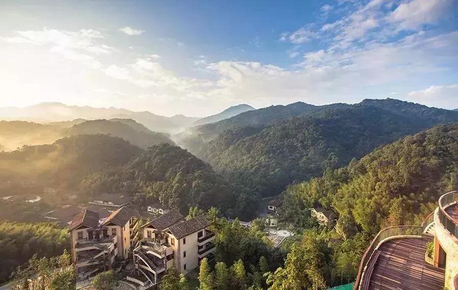 龙门十字水生态温泉度假村