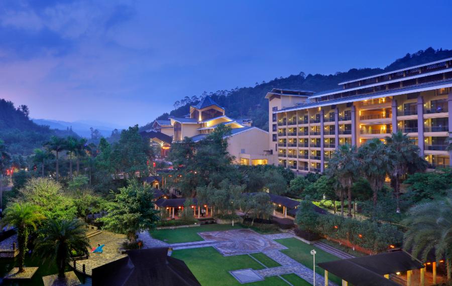 龙门地派温泉度假酒店