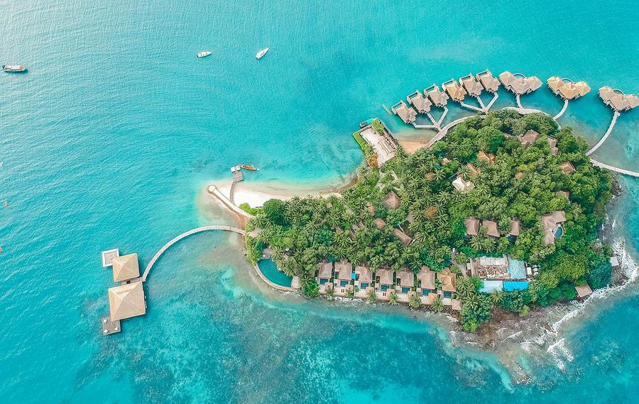 颂萨私人岛屿酒店 Song Saa Private Island