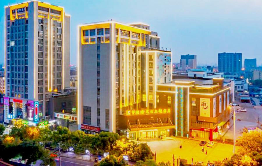 扬州东关街望潮楼文化主题酒店
