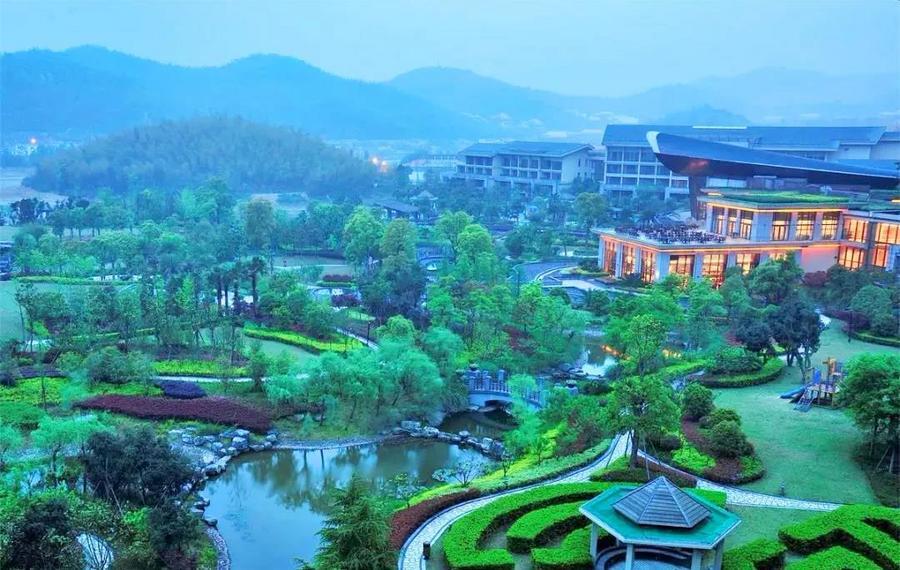 宁波九龙湖开元度假村