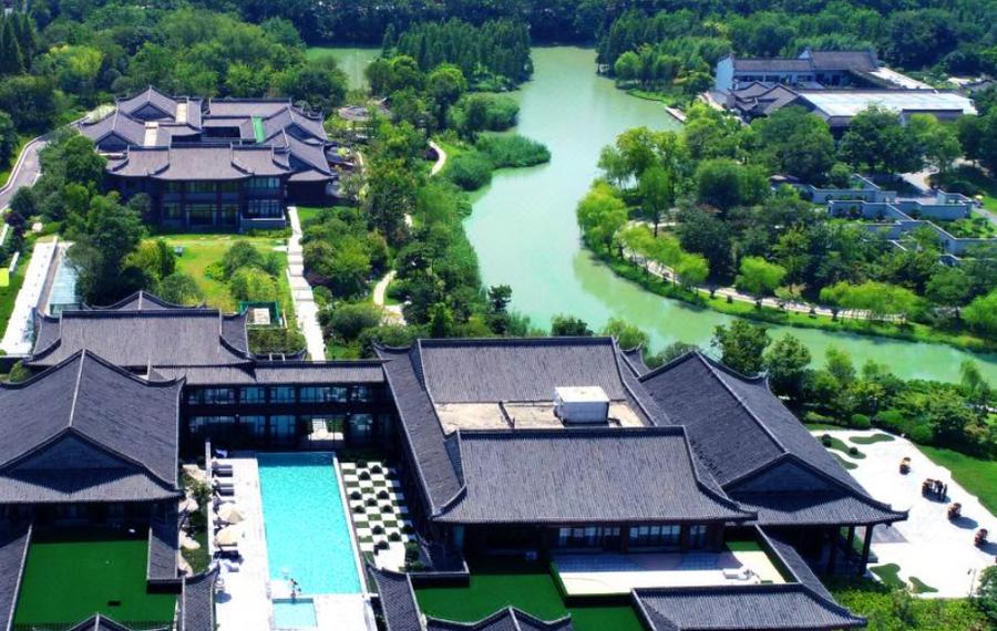 扬州隐居瘦西湖温泉度假酒店