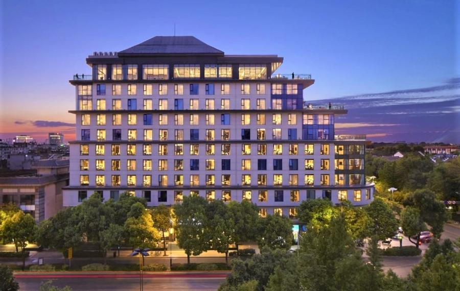 扬州瘦西湖君亭酒店