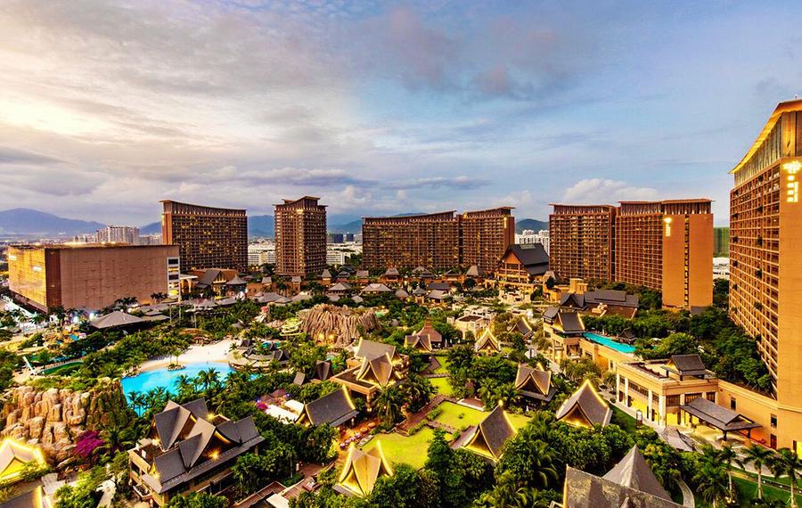 三亚湾红树林度假世界(棕榈王国酒店)