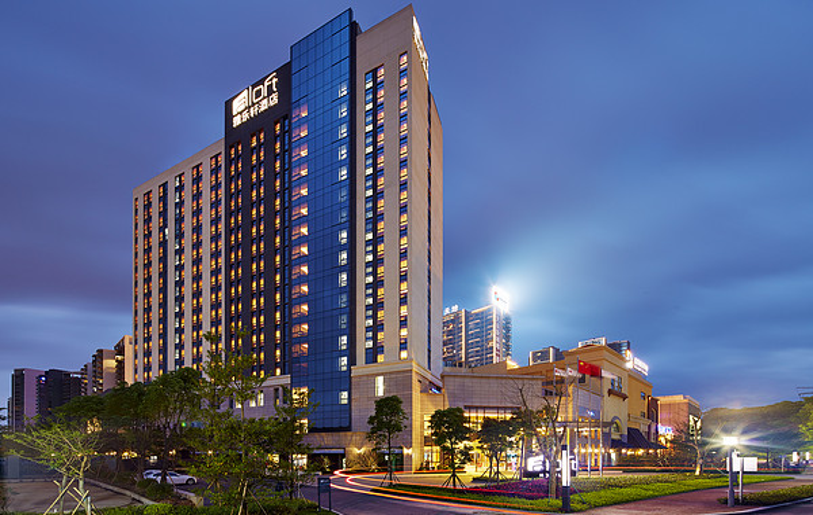 东莞大运城邦雅乐轩酒店