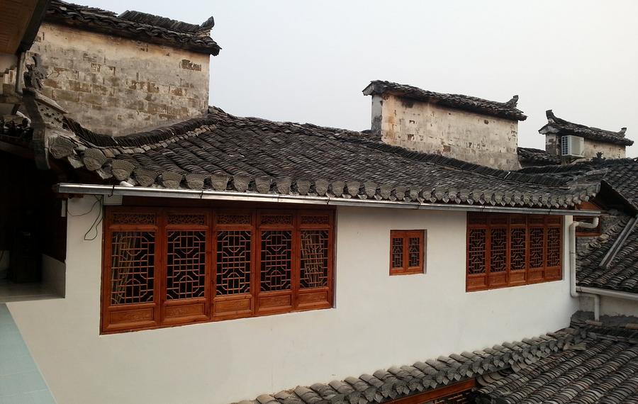 黟县宏村杨家庭院