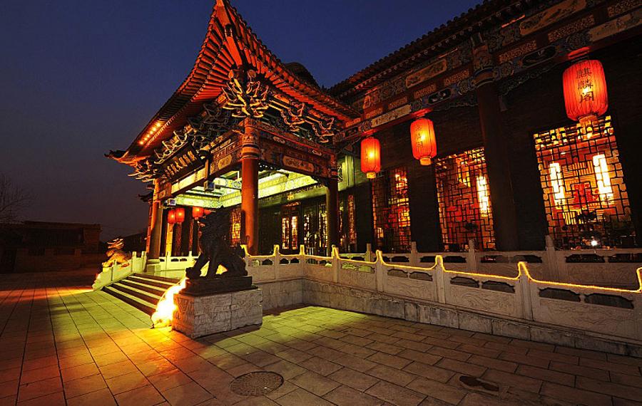 山西平遥麒麟阁大饭店