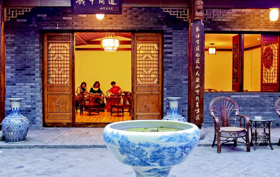 绍兴大越小院文化主题酒店