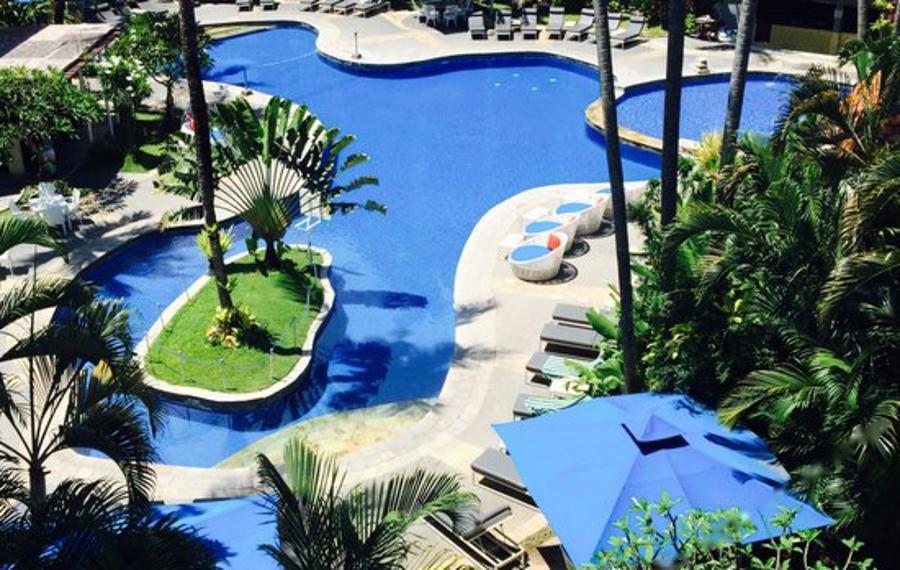 巴厘岛沙努尔天堂套房酒店