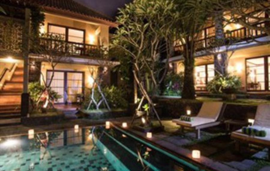 巴厘岛乌布康瑞度假村及水疗中心