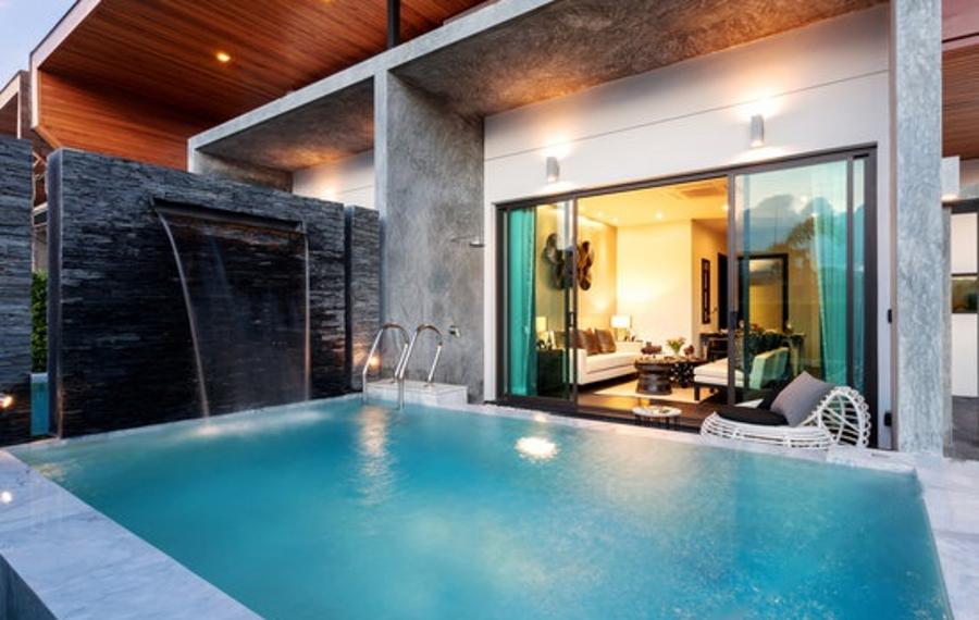 普吉岛8号泳池别墅度假屋