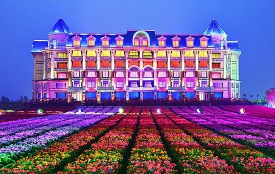 广州花之恋城堡酒店