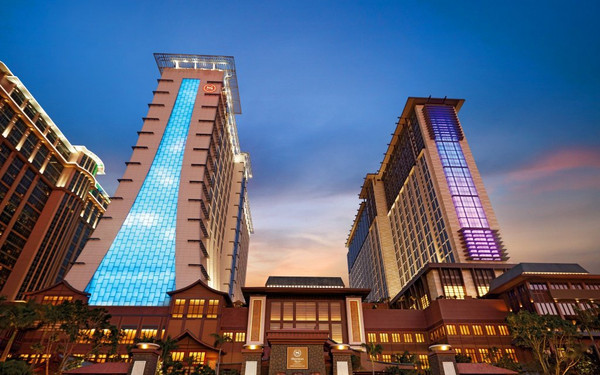 澳门喜来登金沙城中心大酒店(Sheraton Grand Macao Hotel, Cotai Central)