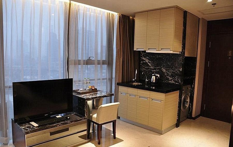 果曼公寓酒店(宁波银亿环球中心店)