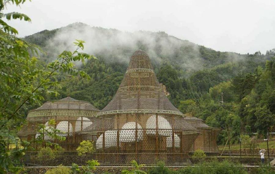 丽水隐居龙泉国际竹建筑文创生活村落