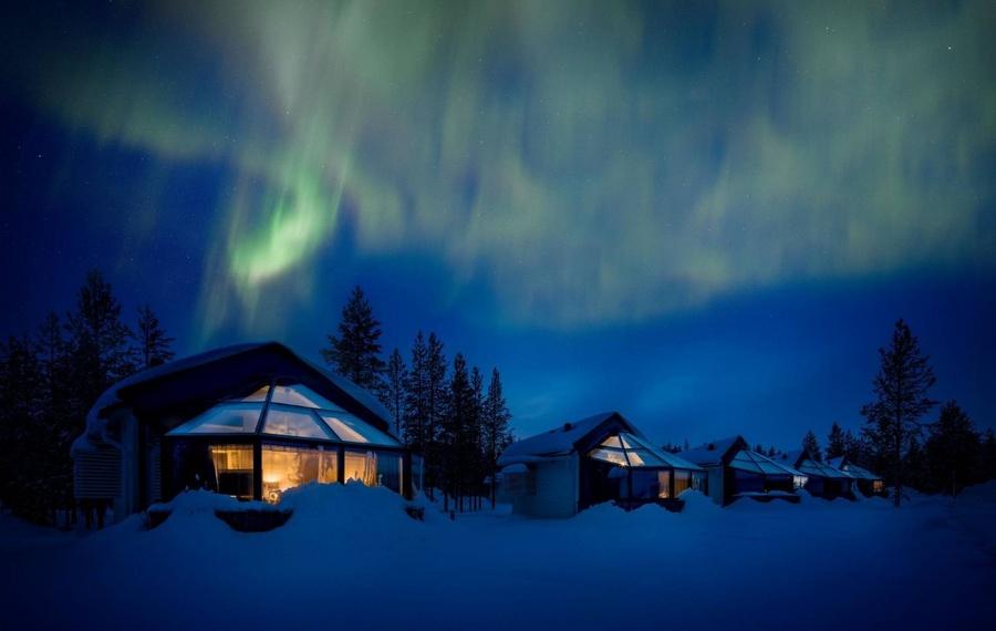 北极圈圣诞老人冰屋Santa's Igloos Arctic Circle                                                                     又名:北极圈圣诞老人冰屋(Santa's Igloos Arctic Circle)