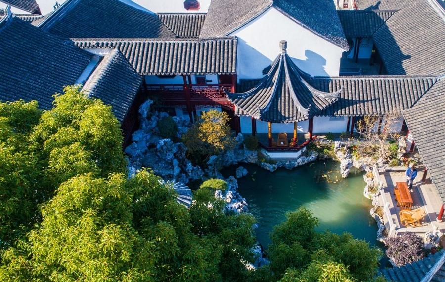 苏州墨客园园林文化酒店