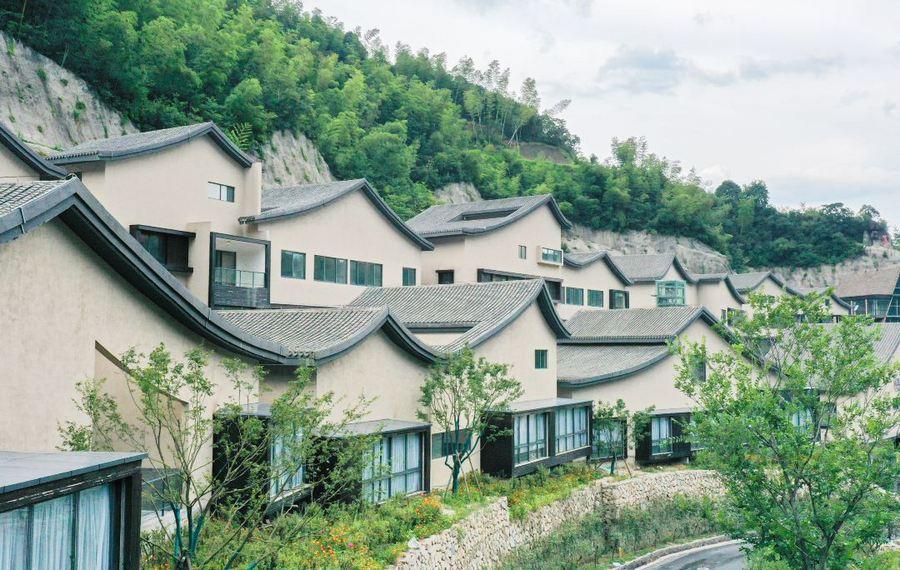 葛仙村月染仙居酒店