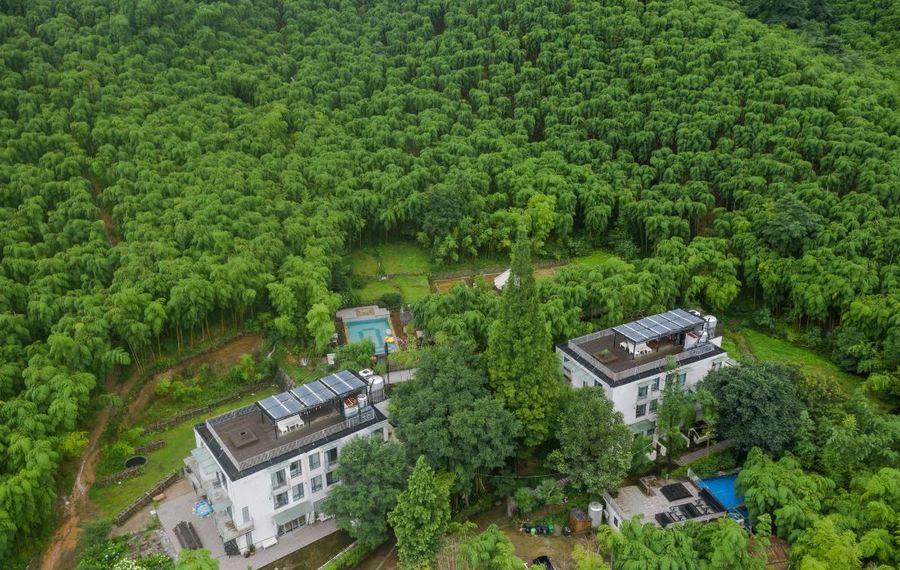 莫干山山中小筑温泉花园度假民宿