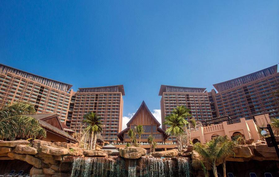 三亚湾红树林度假世界(大王棕酒店)